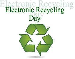 Cover photo for Randolph County Electronics Recylcling Day Saturday, October 5