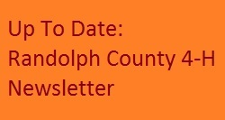 Cover photo for Up to Date: Randolph County 4-H Newsletter November/December