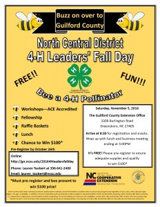 Cover photo for North Central 4-H Leaders Day!