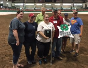 Cover photo for February 2018 NC 4-H Horse Program Newsletter