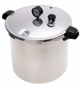 Pressure canner or cooker