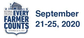 Logo for Farm Safety Week 2020