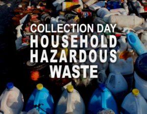 Assortment of hazardous waste