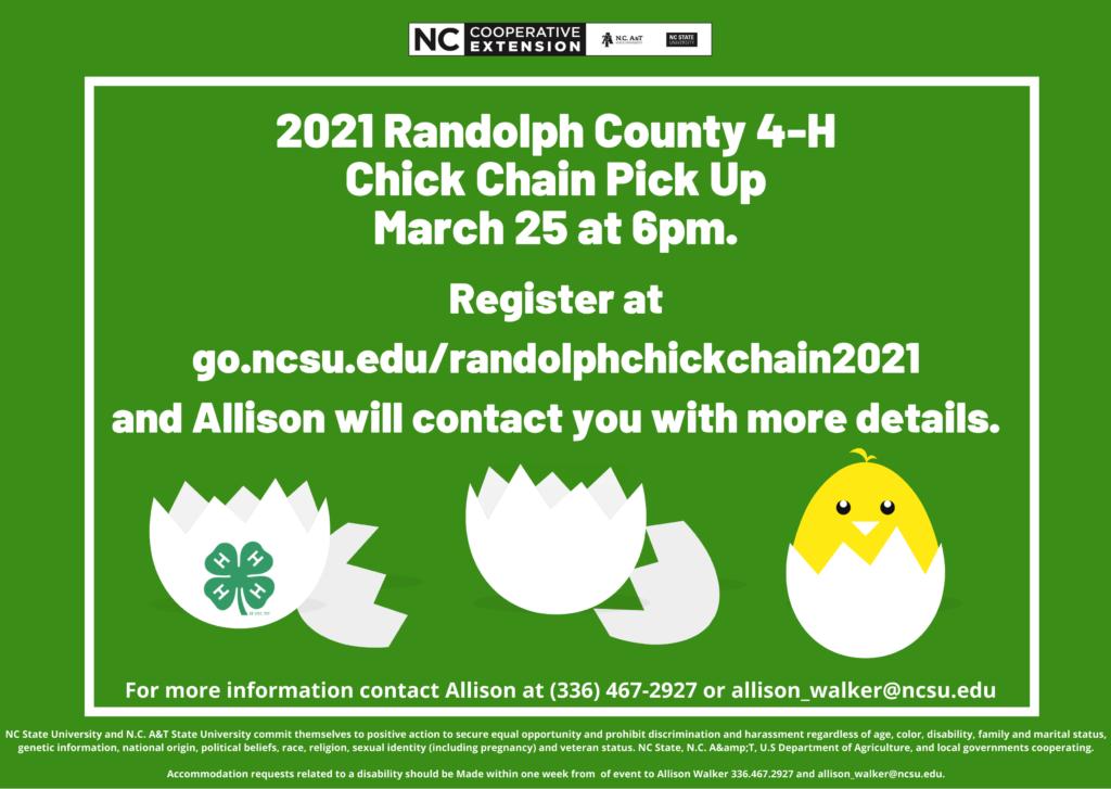 chick chain info