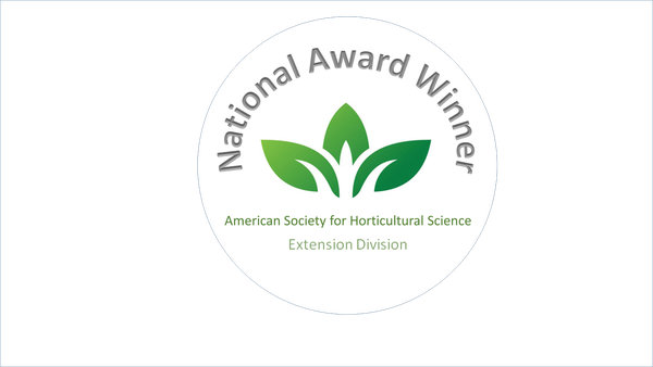 National Award Winner seal